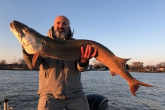 Jim Fernandes, London, ON, 50-incher, Lake St. Clair.