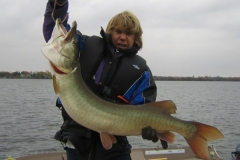 Andrew Hucal, Port Perry, ON, 42-incher (personal best), Lake Scugog, ON.