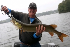 Jim Keller, Erie, PA, 38-incher (personal best), Edinboro Lake, PA.